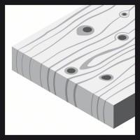Круглая шлифбумага Bosch 2.608.605.067 (125 мм; К40; 5 шт; для дерева, металла)