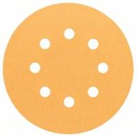 Шлифовальный круг BOSCH 2.608.605.071 (125 мм; К120; 5 шт; ддерева,металла)