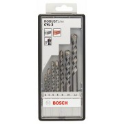7 сверл SILVER PERCUSSION. ROBUST LINE Bosch 2607010545