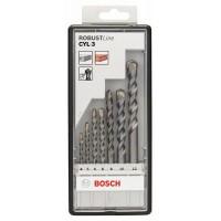 7 сверл SILVER PERCUSSION. ROBUST LINE Bosch 2607010545