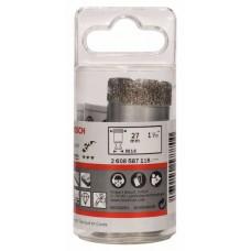 Алмазная коронка 27 мм DRY SPEED Bosch 2608587118