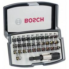 Набор Бит Extra Hard с цветовой кодировкой 32 шт Bosch 2607017319
