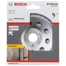 Алмазная чашка Standard, Universal 125 мм Bosch 2608601574