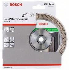 Алмазныйазный диск Bf HardCeramic 125/22,23 мм Bosch 2608615077
