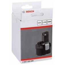 Аккумулятор NiMh 9.6V 1.5 Ah O-pack Bosch 2607335846