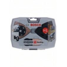 Starlock Набор для шлифования 2+1 Bosch 2608664133