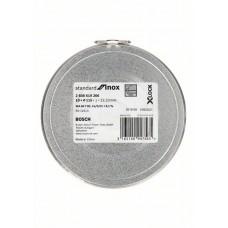Отрезной диск Standard for Inox X-LOCK 115x1x22.23 мм прямой 10шт Bosch 2608619266