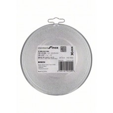 Отрезной диск  Standard for Inox X-LOCK 125x1.6x22.23 мм прямой 10шт Bosch 2608619364