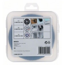 Набор оснастки X-LOCK (Абразив/КЛТ/Твердосплавный диск) 125 мм Bosch 2608619374