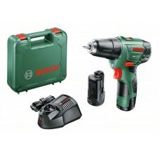 Аккумуляторная дрель-шуруповерт Bosch EasyDrill 12-2 (2 акк.) 060397290X