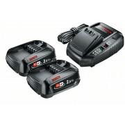 Набор: 2 аккумулятора PBA 18 2.5 Ач+ з/у AL1830 Bosch 1600A011LD