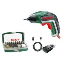 Аккумуляторная отвертка Bosch IXO V Bit Set 06039A800S