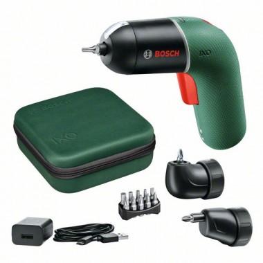 Аккумуляторная отвертка Bosch IXO VI (full) 06039C7122