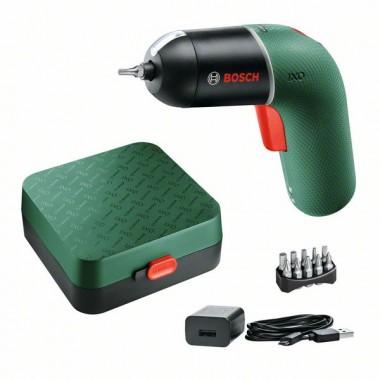 Аккумуляторная отвертка Bosch IXO VI 06039C7120