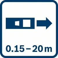 Лазерный дальномер Bosch GLM 20 0601072E00