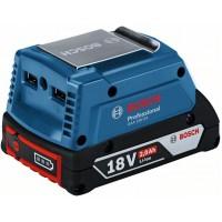 Адаптер для зарядки USB-устройств от аккумуляторов 14,4 В и 18 В Bosch GAA 18V-24 1600A00J61