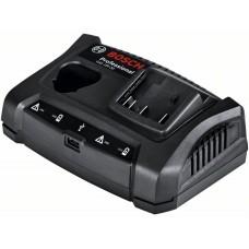 Зарядное устройство для 12, 14.4 и 18-В аккумуляторов и USB-устройств Bosch GAX 18V-30 1600A011A9