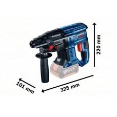 Аккумуляторный перфоратор 18 В Bosch GBH 180-LI 0611911020