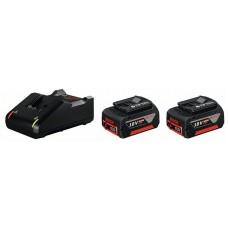Аккумулятор 2 шт. Li-Ion 18 В 4.0 Ач + GAL 18V-40 Bosch 1600A019S0