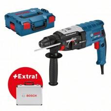 Перфоратор Bosch GBH 2-28 в L-case  + набор оснастки 0615990L42