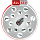 Системные аккумуляторные инструменты DIY 12 В Li-Ion