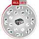 Системные аккумуляторные инструменты DIY 18 В Li-Ion