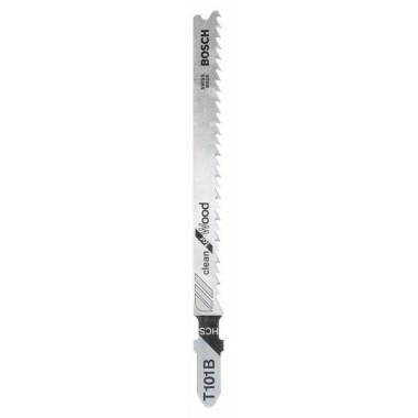 Пильное полотно T 101 B Clean for Wood Bosch 2608630557