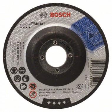 Отрезной круг выпуклый Expert for Metal A 30 S BF 115x2,5 мм Bosch 2608600005