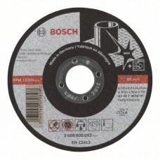 Отрезной круг прямой Expert for Inox AS 46 T INOX BF 115x2,0 мм Bosch 2608600093
