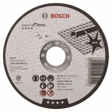 Отрезной круг прямой Expert for Inox AS 46 T INOX BF 125x2,0 мм Bosch 2608600094