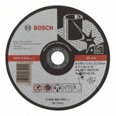 Отрезной круг прямой Expert for Inox AS 46 T INOX BF 180x2,0 мм Bosch 2608600095