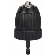 Быстрозажимный сверлильный патрон до 10 мм 1-10 мм, 1/4' - 6-гр. Bosch 2608572075