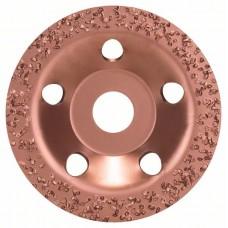 Твердосплавный чашечный шлифкруг 115x22,23 мм; крупнозерн., плоск. Bosch 2608600175