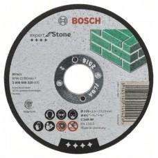 Отрезной круг прямой Expert for Stone C 24 R BF 115x2,5 мм Bosch 2608600320