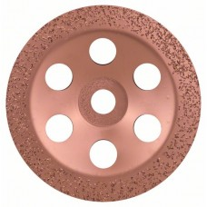 Твердосплавный чашечный шлифкруг 180x22,23 мм; среднезерн., плоск. Bosch 2608600363