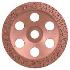 Твердосплавный чашечный шлифкруг 180x22,23 мм; крупнозерн., плоск. Bosch 2608600364