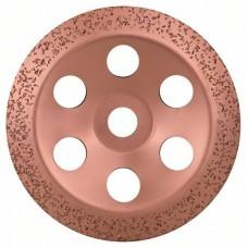 Твердосплавный чашечный шлифкруг 180x22,23 мм; среднезерн., скошен. Bosch 2608600366