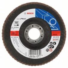 Лепестковый шлифкруг X551 Expert for Metal 125x22,23 мм, 60 Bosch 2608606717