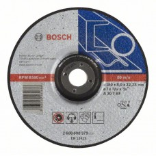 Обдирочный круг выпуклый Expert for Metal A 30 T BF 180x8,0 мм Bosch 2608600379