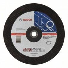 Отрезной круг прямой Expert for Metal A 24 R BF 300x3,5 мм Bosch 2608600380