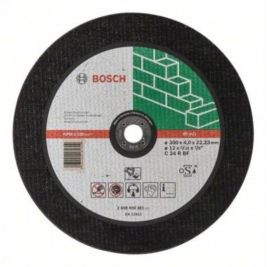 Отрезной круг прямой Expert for Stone C 24 R BF 300x4,0 мм Bosch 2608600381