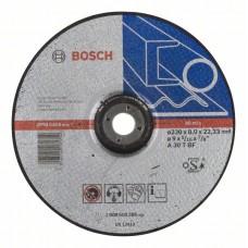Обдирочный круг выпуклый Expert for Metal A 30 T BF 230x8,0 мм Bosch 2608600386