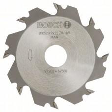Дисковые фрезы 8, 22 мм, 4 мм Bosch 3608641013