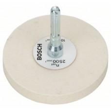 Полировальный войлок 80 мм Bosch 2608620647