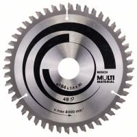 Пильный диск Multi Material 184x30x2,4 мм; 48 Bosch 2608640506