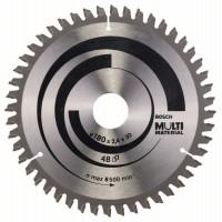 Пильный диск Multi Material 180x30/20x2,4 мм; 48 Bosch 2608640507