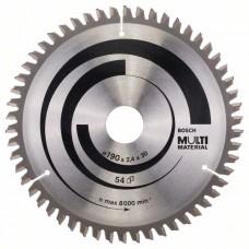 Пильный диск Multi Material 190x30x2,4 мм; 54 Bosch 2608640509