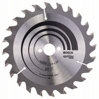 Пильный диск Optiline Wood 160 x 20/16 x 2,6 mm, 24 Bosch 2608640596