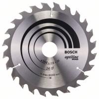 Пильный диск Optiline Wood 184x30x2,6 мм, 24 Bosch 2608640610
