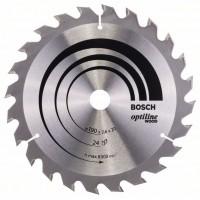 Пильный диск Optiline Wood 190x20/16x2,6 мм, 24 Bosch 2608640612